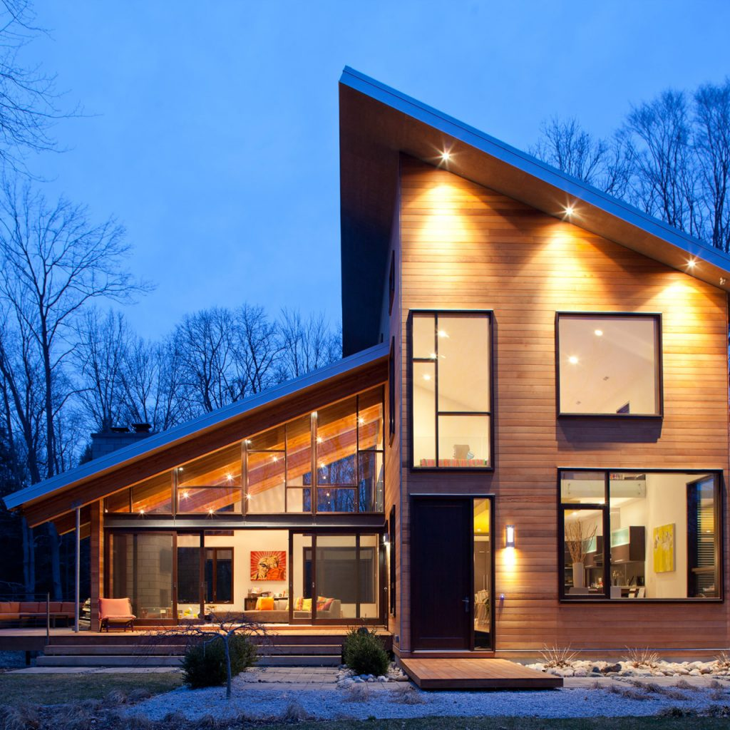 Lucid Architectureu0027s Pigeon Creek Residence Has A Featured Modern Design.
